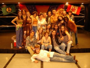 Soundstage's cast of Hair 2010