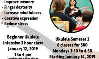 3-hour Beginner Ukulele Workshop