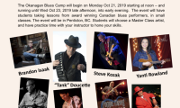 Okanagan Blues Camp 2019