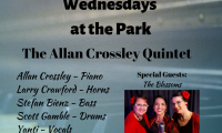 Allan Crossley Quintet @ Summerland's Wednesdays in the Park