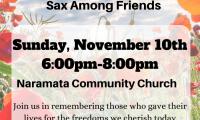 SAF @ Naramata Community Church for Remembrance Day