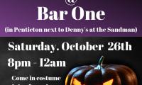 Scare-eee-oke Party @ Bar One