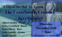 Crawford & Crossley Jazz Quintet at Zias Stonehouse Restaurant
