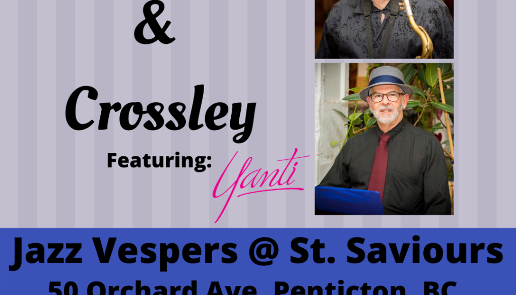 Crawford & Crossley @ Jazz Vespers